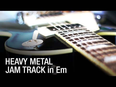E Minor Heavy Metal Backing Track For Guitar (2018) - Only