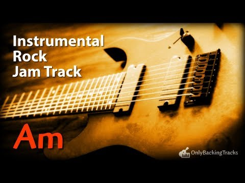 Instrumental Rock Ballad Backing Track in A Minor – Only Backing Tracks