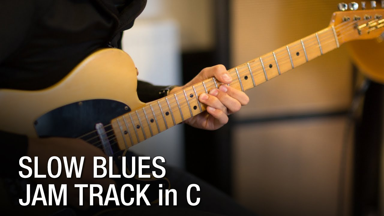 Sky Is Crying Style - Blues Backing Track - Only Backing Tracks